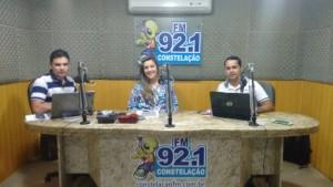Deputada durante entrevista no programa Conversa Franca (Foto: Tony Souza)