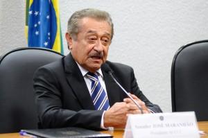 Senador e presidente do PMDB na PB, José Maranhão (Foto: Marcos Oliveira/Agência Senado)