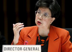 A diretora -geral da OMS (Organização Mundial da Saúde), em Genebra (Foto: Denis Balibouse/Reuters)