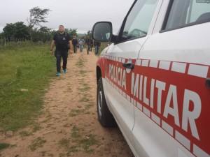 Prisão aconteceu na zona rural de Solânea (Foto: Divulgação/PM)