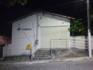 Trio assaltou agência dos Correios em Caiçara (Foto: Silvia Torres)