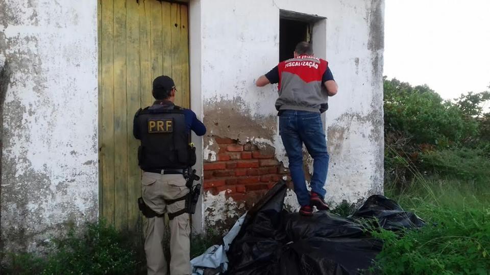 Operação aconteceu nesta segunda-feira (Foto: Divulgação)