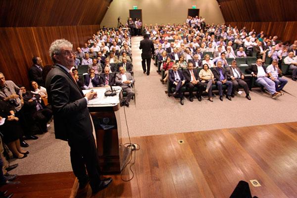 'Caso de sucesso': em seminário, Ricardo Coutinho apresenta resultados de gestão na PB