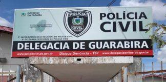 O caso foi registrado na 8ª DSPC em Guarabira. (Foto: Patrulhando Nas Ruas)