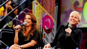 Ivete Sangalo e Xuxa Meneghel são amigas de longa data