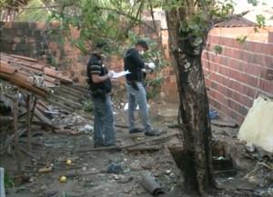 Segundo a polícia, a vítima possui marca de tiro na cabeça