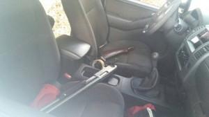 Na Hilux, meliantes deixaram algumas armas
