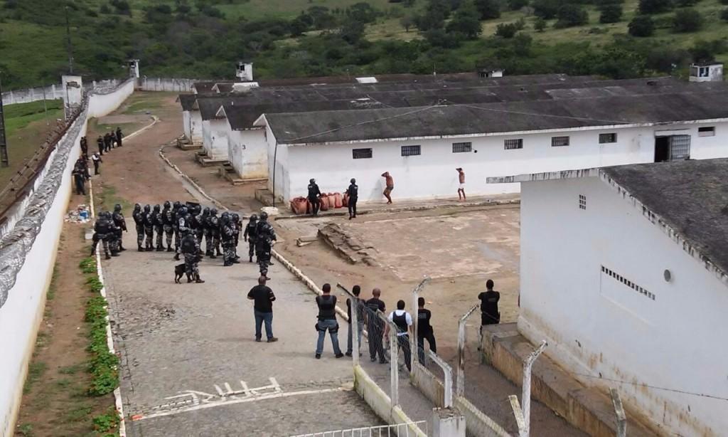 Presídio do Serrotão, em Campina Grande