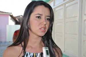 Bianca Alexandrino, secretária de saúde de Araçagi