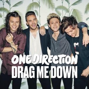 Capa do single 'Drag me down', do One Direction (Foto: Divulgação)
