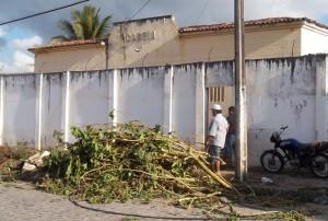Detentos fugiram da Cadeia Pública de Solânea, no Brejo