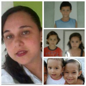 Kiara e os filhos estão no Rio de Janeiro (Foto: Reprodução/Facebook)