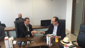 Entrega aconteceu na sede do Ministério Público da Paraíba (MPPB)