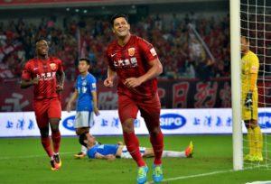 Hulk, que joga no Shanghai SIPG, da China, é o brasileiro mais bem pago do futebol mundial