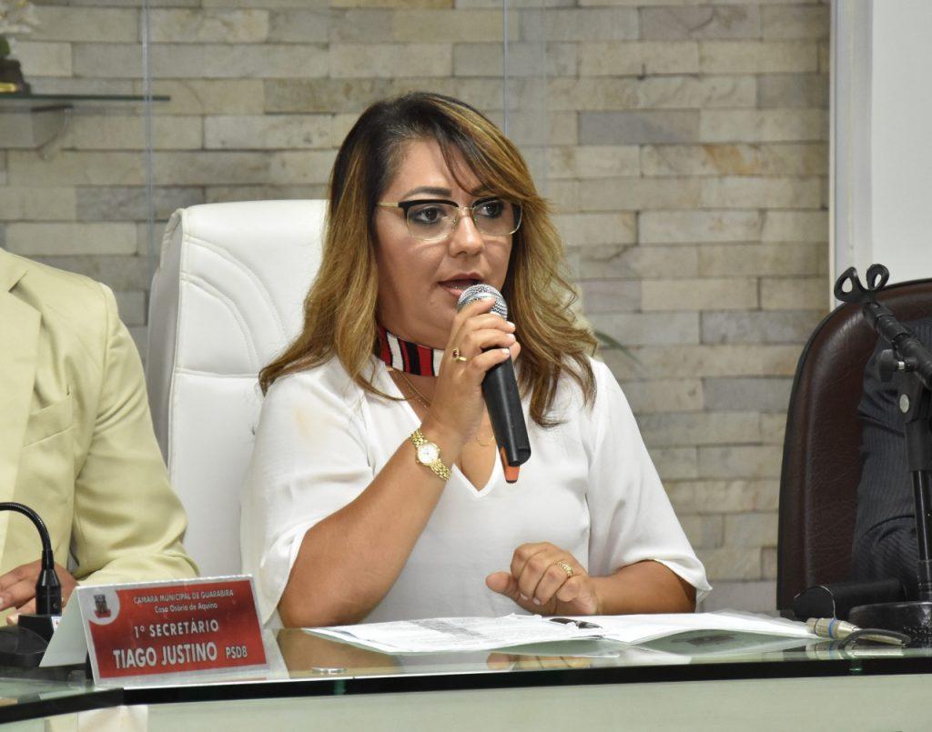 Neide de Teotônio presidiu a Câmara Municipal de Guarabira no biênio 2017/2018.