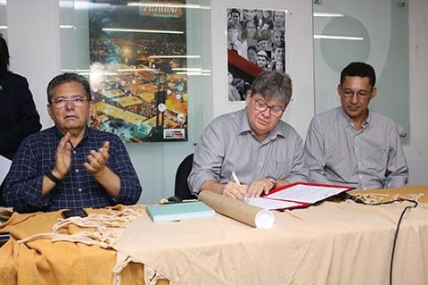 Programa tinha sido uma das promessas de campanha do governador João Azevêdo (Foto: Francisco França)