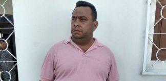 Flavio foi preso na tarde desta segunda, no Conde (Foto: Reprodução/WhatsApp)