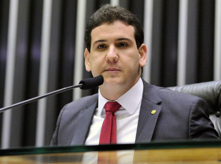 Ex-deputado federal André Amaral foi acusado de cobrar propina para liberar emenda parlamentar (Foto: Gilmar Felix / Câmara dos Deputados)