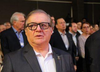 Ricardo Vélez, ministro da Educação, participou de evento em Campos do Jordão (SP), na sexta-feira (5) — Foto: Fábio França/G1