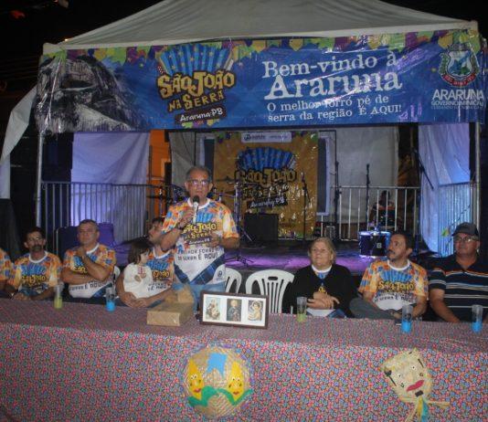 Programação foi divulgada pelo prefeito Vital costa durante evento no Calçadão do Mercado Cultural (Foto: divulgação)