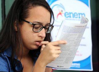 Para se inscrever, interessados nas vagas devem ter prestado o Enem de 2018 e tirado mais que zero na redação (Foto: Ricardo Matsukawa/VEJA.com)