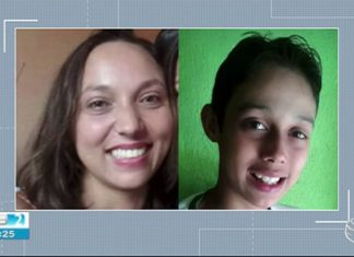 Mãe e filho foram mortos dentro da casa onde moravam (Foto: TV Asa Branca/Reprodução)