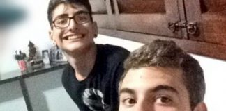 Marvin Correia (esquerda) se tornou réu após ter ajudado o amigo Patrick Nogueira (direita) a matar o tio Marcos Campos (Foto: Reprodução/Twitter)
