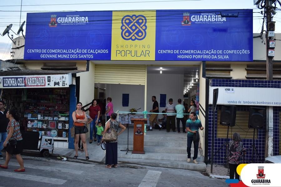 Centro de Comercialização de Calçados Geovane Muniz dos Santos (Foto: Divulgação/Prefeitura de Guarabira)