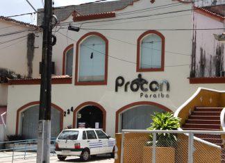 Sede da Autarquia de Proteção e Defesa do Consumidor (Procon-PB) (Foto: Krystine Carneiro/G1)